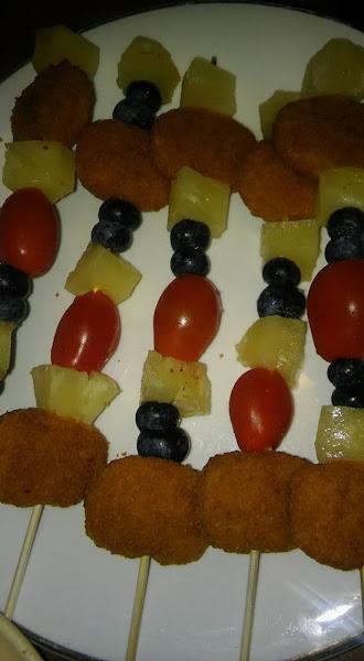 Kids Grilled Chicken Nugget Kabobs ! Recipe