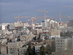 Photo: The booming construction scene in Amman