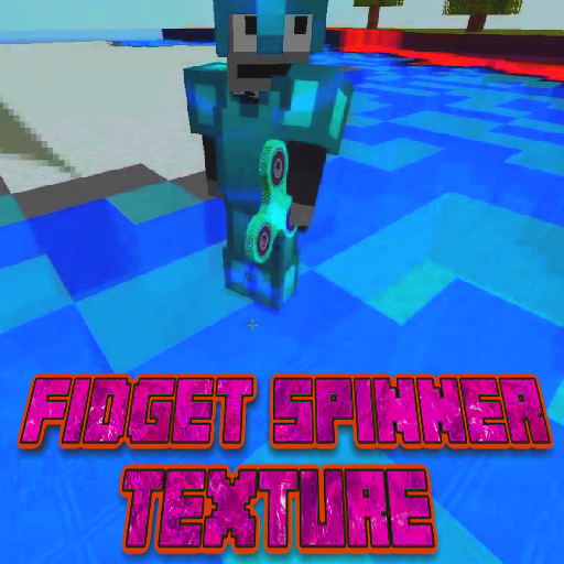 Texture Fidget Spinner MCPE