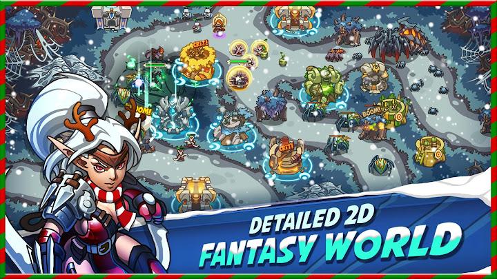 Empire Warriors Premium: Tactical TD Game Android App Screenshot