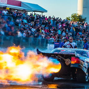 Jet Funny Car by Gary Wells - Sports & Fitness Other Sports ( drag racing, racing )