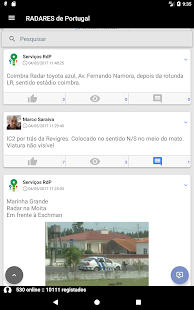 RADARES de Portugal- screenshot thumbnail
