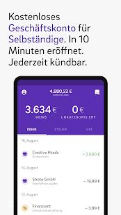 Kontist – Banking für Selbständige & Freelancer Screenshot