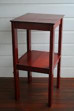 Photo: Side Table - salvaged Jarrah Christos Kondos