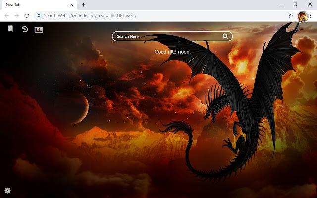 Dragon HD Wallpapers New Tab Theme
