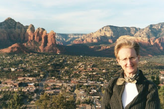 Photo: Cindy at Sedona, Arizona (February 2003)
