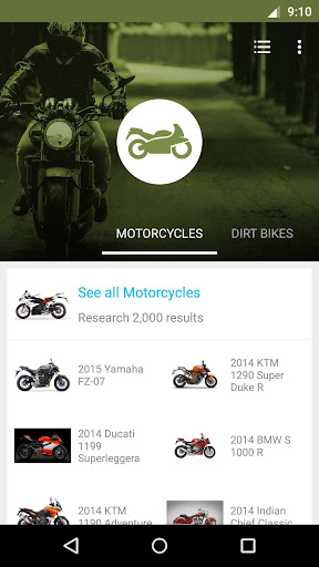 Motorcycle Research Dealers