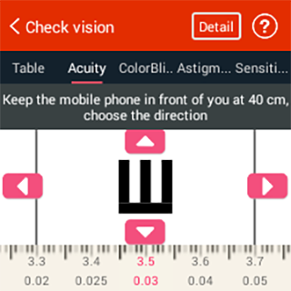 iCare Eye Test - Eye Care- screenshot