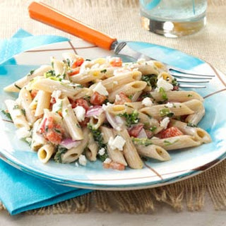 Easy Pasta Salad for a Crowd.