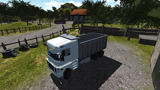 Offroad Truck Simulator 2018 Truck driver cargo 3d - náhled