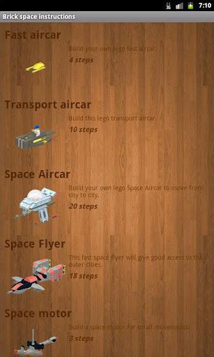 Brick space instructions 3.3 screenshots 1