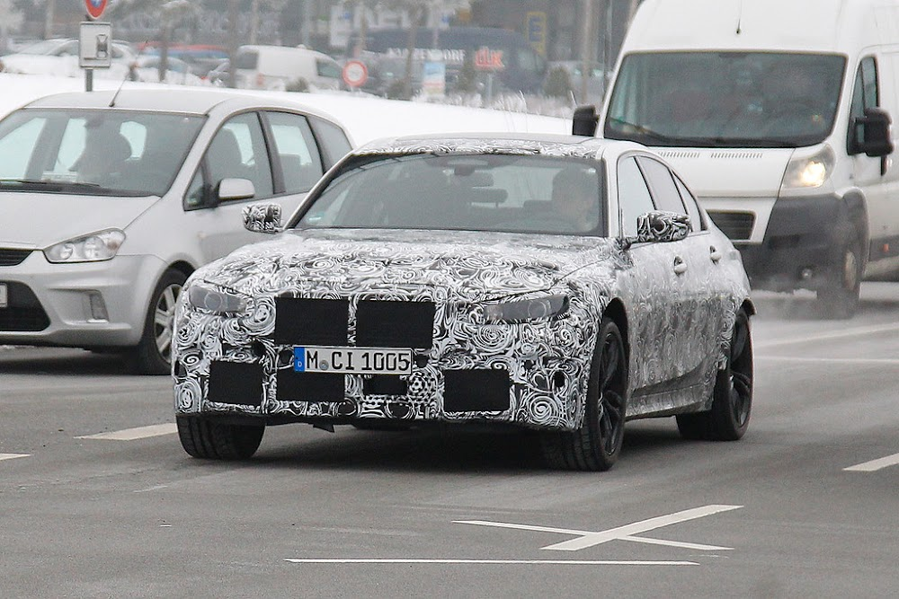 New BMW M3 spied in testing