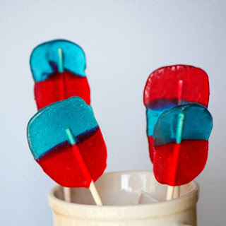 Fourth of July Lollipops – Quick & Easy – Jolly Rancher.