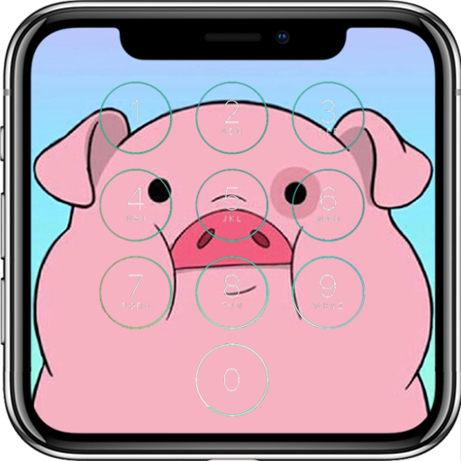 Cute Pig Lock Screen