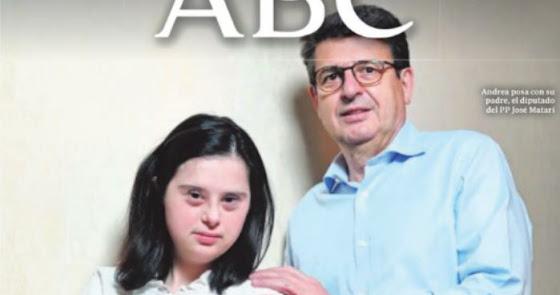 Andrea y Juan José Matarí, protagonistas de la portada de 'ABC'