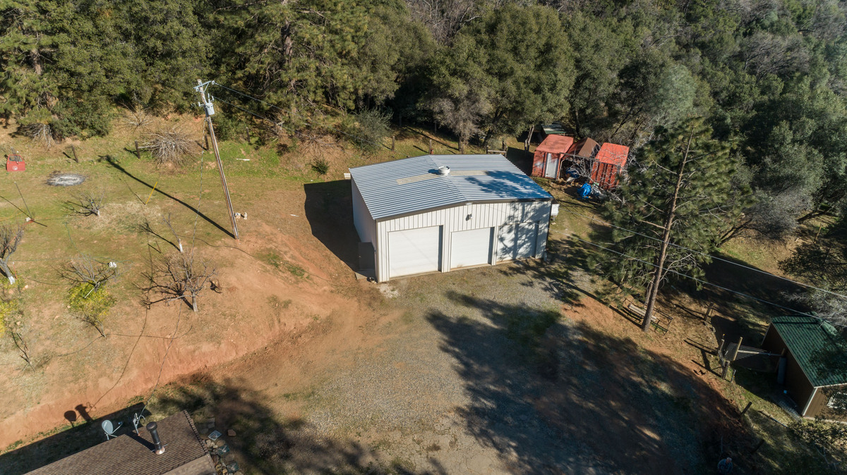 Real Estate Properties for Sale in North Fork CA - This North Fork CA home offers plenty of storage spaces, indoors and out.