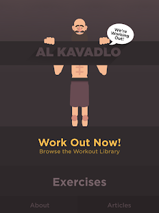 We're Working Out - Al Kavadlo- screenshot thumbnail