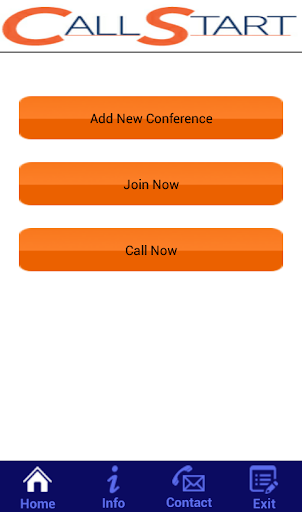 Call Start Quick Conferencing 1.0 screenshots {n} 1