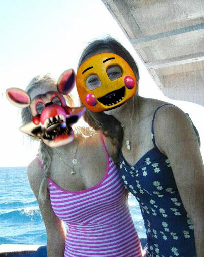 Animatronic Photo Mask Sticker