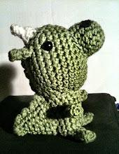 Photo: 070/366 - crocheted dragon