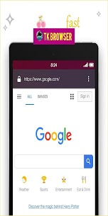 TK Browser App Download For Android and iPhone 1