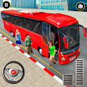 OffRoad Tourist Coach Bus Driving Games icon