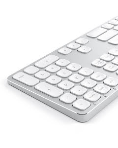 Satechi Wired Keyboard for Mac Nordic Silver