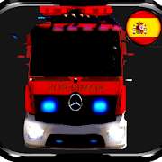 Firefighter Spain With Siren and Light APK