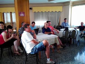 Photo: Durante la charla de Juan Lozano. Parecento todos muy aplicados.