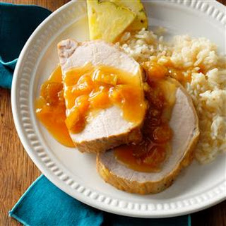 Hawaiian Pork Roast with Pineapple.