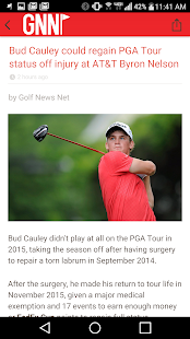 Golf News Net App- screenshot thumbnail