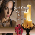 Good Evening: Greeting, Quotes, GIF, Photo Frame icon
