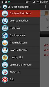Car Loan Calculator (Malaysia) screenshot 0