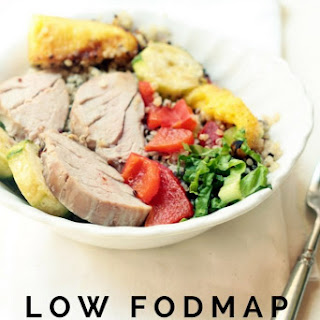 A Hawaiian inspired meal, for peace of mind for those with digestive sensitivity,  that 's nutritionally balanced and tastes fab made with low FODMAP ingredients.