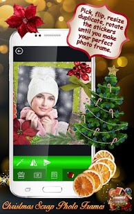 Christmas Scrap Photo Frames - náhled