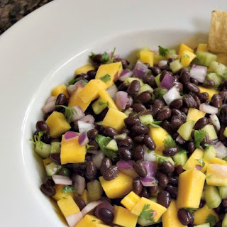Mango Black Bean Salad.