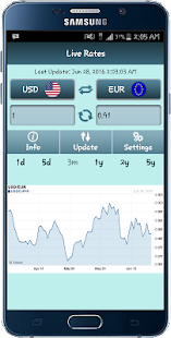 Live Currency Exchange Rates- screenshot thumbnail