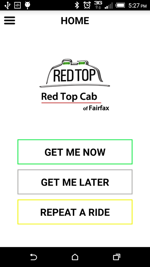 Fairfax Red Top Cab- screenshot
