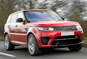 A Range Rover similar to the  one in the settlement.