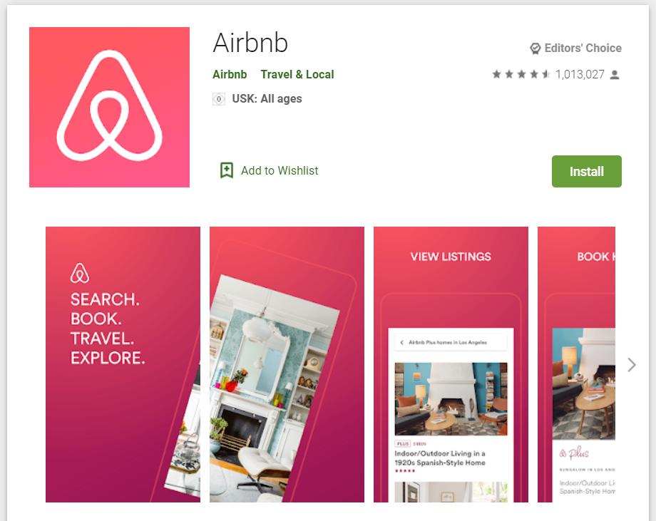 Le migliori Travel App per riscoprire l'Italia_airbnb