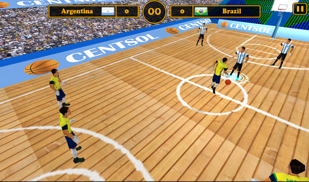 Best Basketball 2014 Free- screenshot
