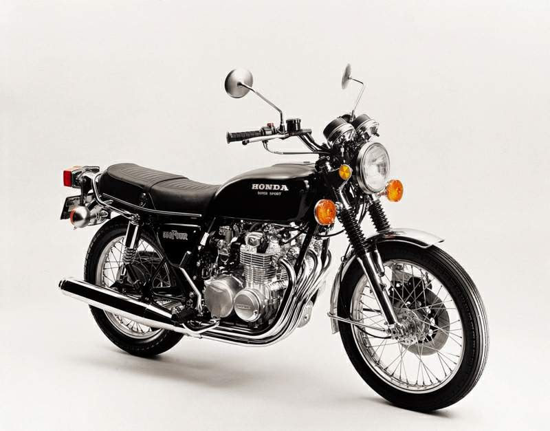 Honda CB 400 Four-manual-taller-mecanica-despiece