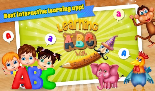Learning ABC With Fun For Kids- screenshot thumbnail