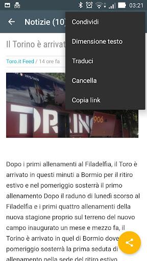Toro Torino Notizie 1.0 screenshots 4