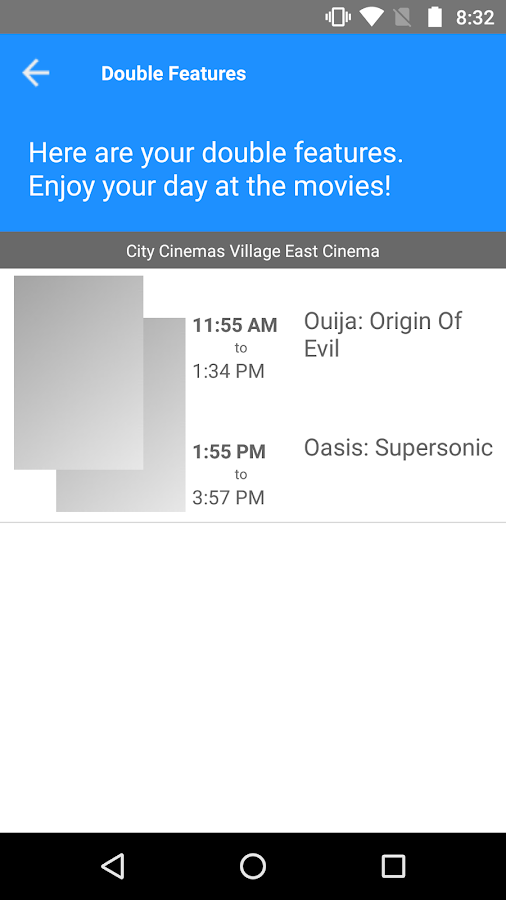 Double Feature Finder- screenshot