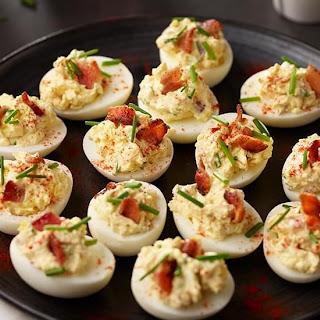 Sister Mary's Heavenly Deviled Eggs.