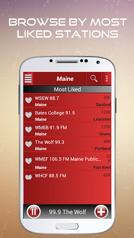 android A2Z Maine FM Radio Screenshot 2