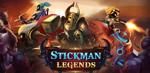 Stickman Legends: Shadow Wars game for Android screenshot