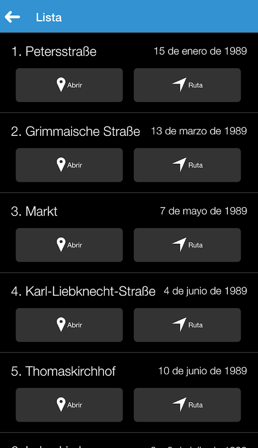 Leipzig '89 Recorriendo- screenshot
