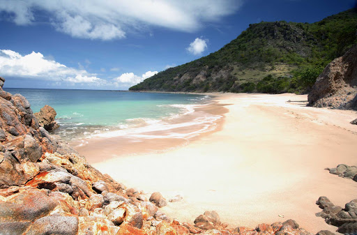 Montserrat-Rendezvous-Bay - Rendezvous Bay on Montserrat, a British Overseas Territory.